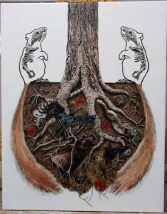 """Symbiotic""; (c) Amy Guidry 2010"