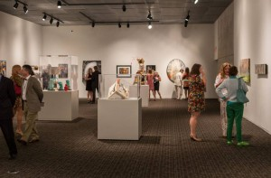 Installation view of 2014 Art Melt; Capitol Park Museum, Baton Rouge, LA