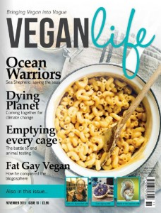 Vegan Life Magazine- November 2015 issue